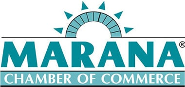 Logo for Marana Chamber of Commerce, of which TrueClean is a member