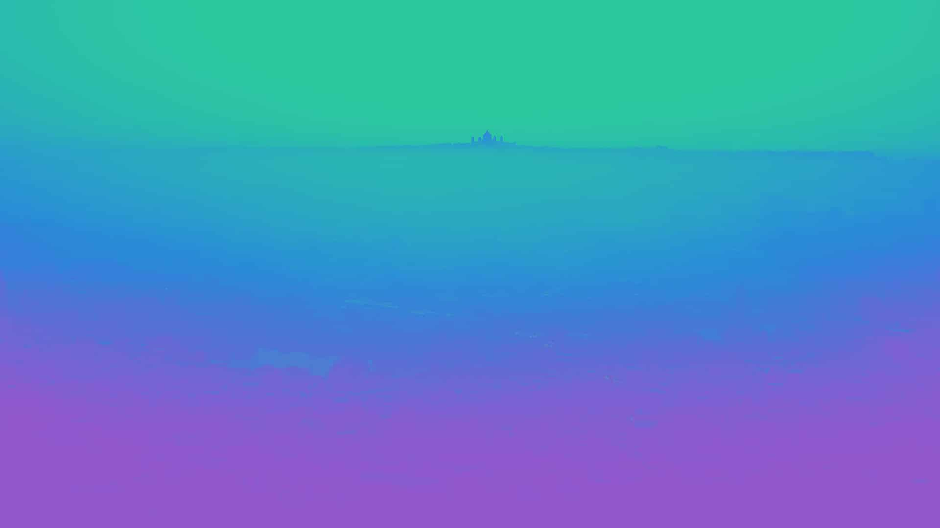 Abstract blue, green, and purple background